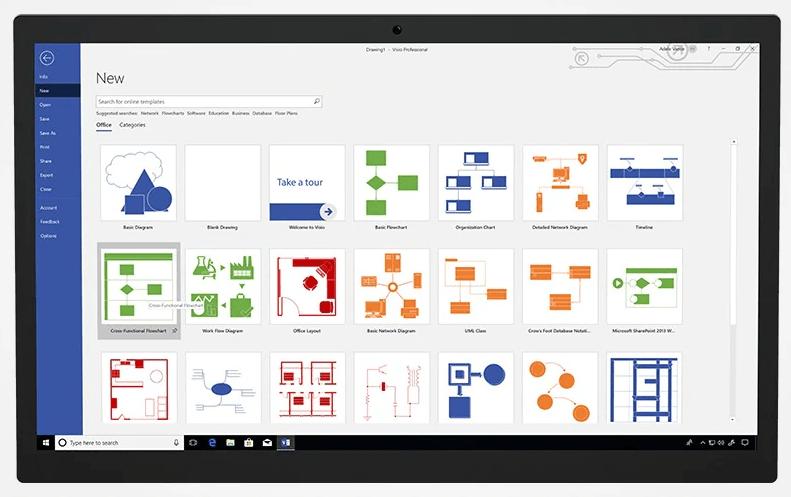Microsoft Visio Professional 2019 7