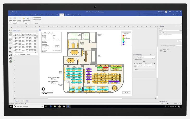 Microsoft Visio Professional 2019 10